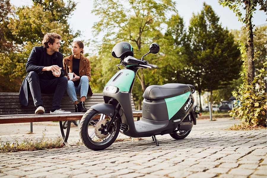 La compañía de motos eléctricas, Coup, aterriza en Madrid