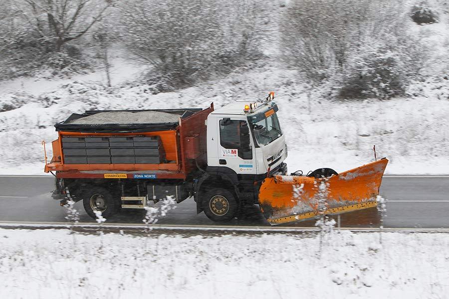 ¡Atentos, conductores! La DGT alerta de que la nieve afectará a 11 carreteras