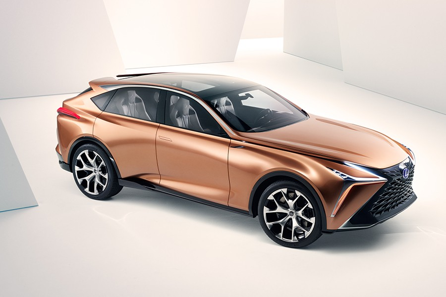 Debut del Lexus LF-1 Limitless Concept en Detroit 2018
