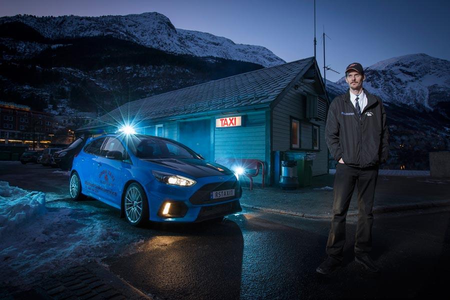 Carreras a todo gas: el taxi más rápido del mundo está en Noruega