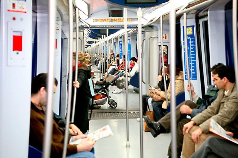 Aumenta el uso del transporte público en España