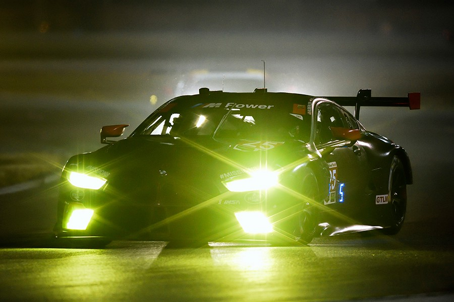 Las luces de competición del BMW M8 GTE que mejoran la seguridad