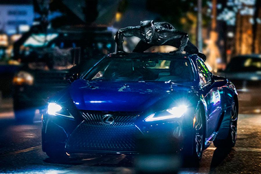 Este es el Lexus con el que Black Panther se moverá por EEUU