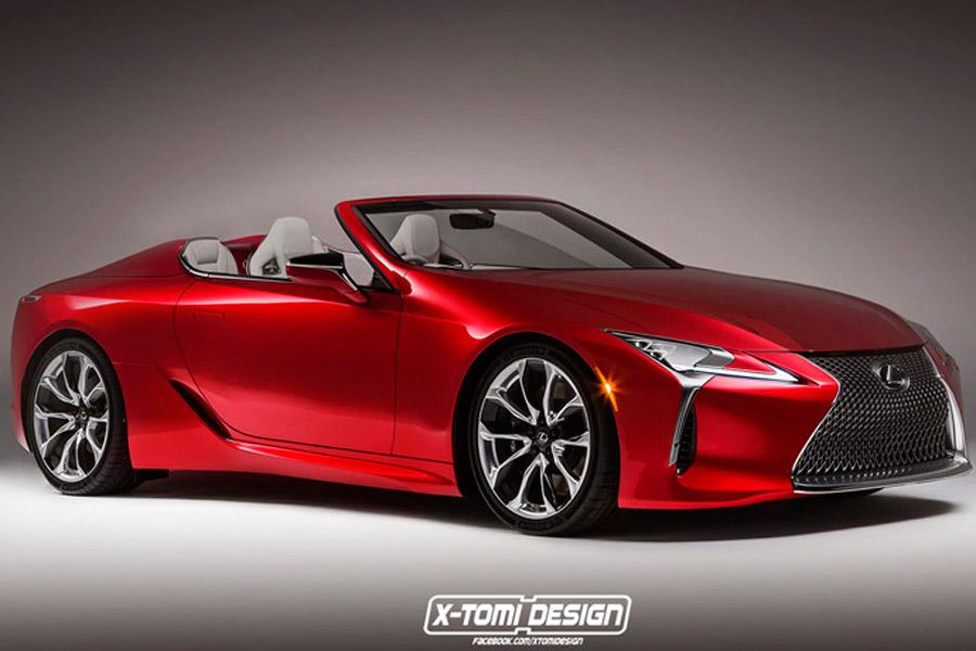 Habrá un Lexus LC descapotable y un LC F en 2020