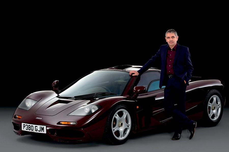 Mr. Bean subasta algunos de sus coches de colección