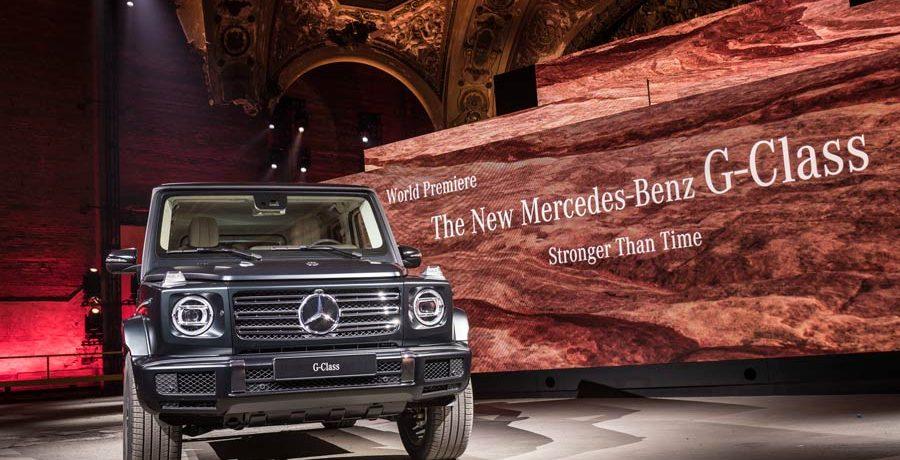 Nuevo Mercedes Clase G 2018, el mito todoterreno se renueva