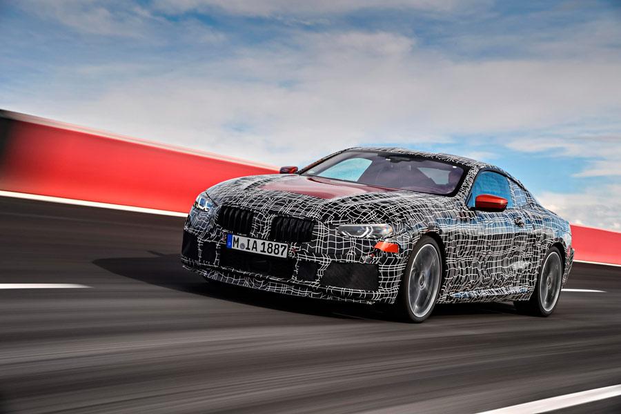 El BMW Serie 8 Coupé ultima su desarrollo en circuito (¡cómo suena!)