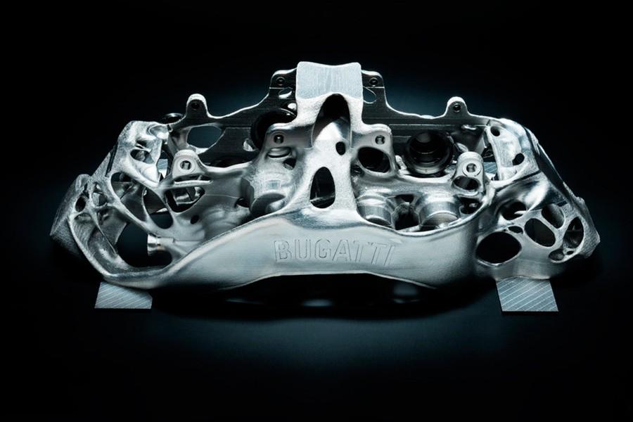 Una impresora 3D para parar el coche más rápido del mundo