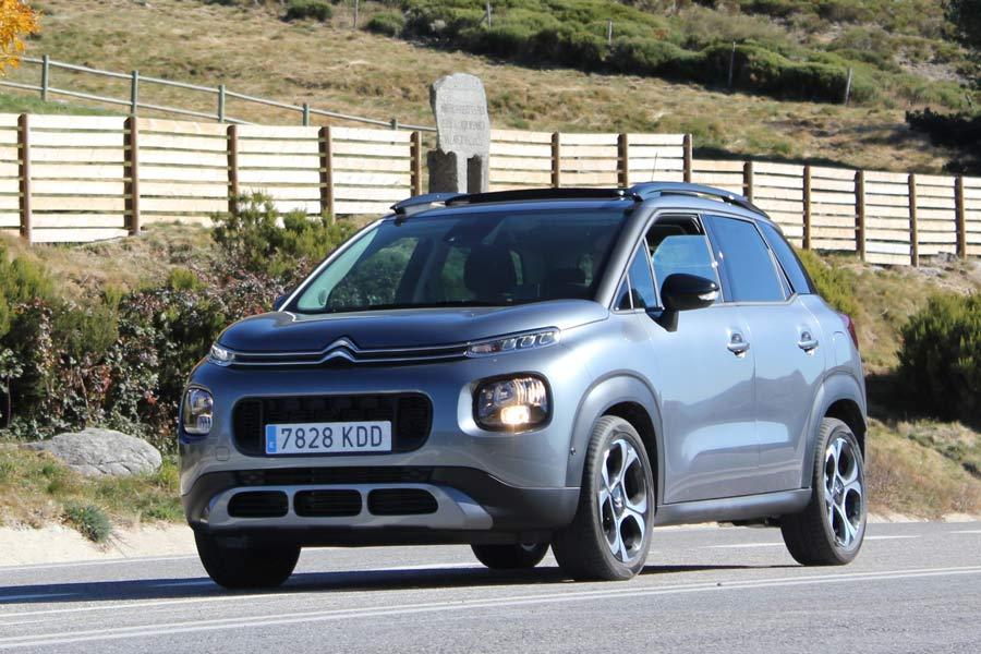 El C3 Aircross se comporta de manera confortable en carretera.