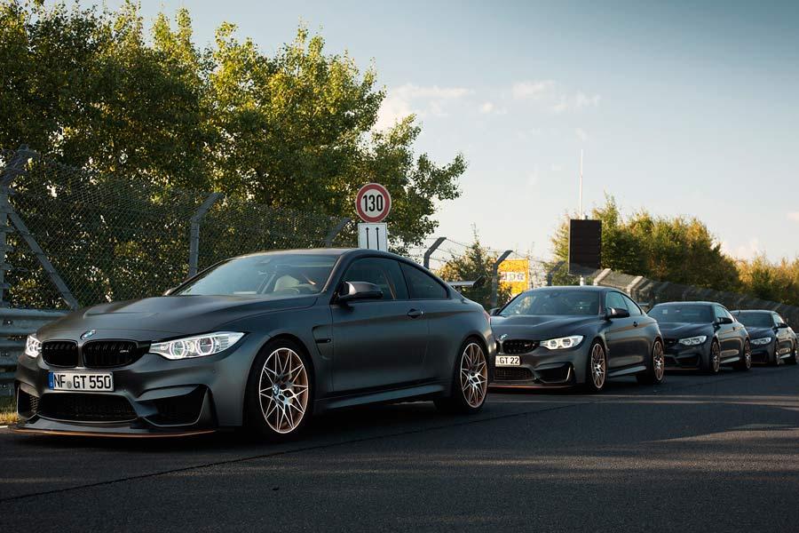 VÍDEO | Reunión de BMW M4 GTS en Nürburgring