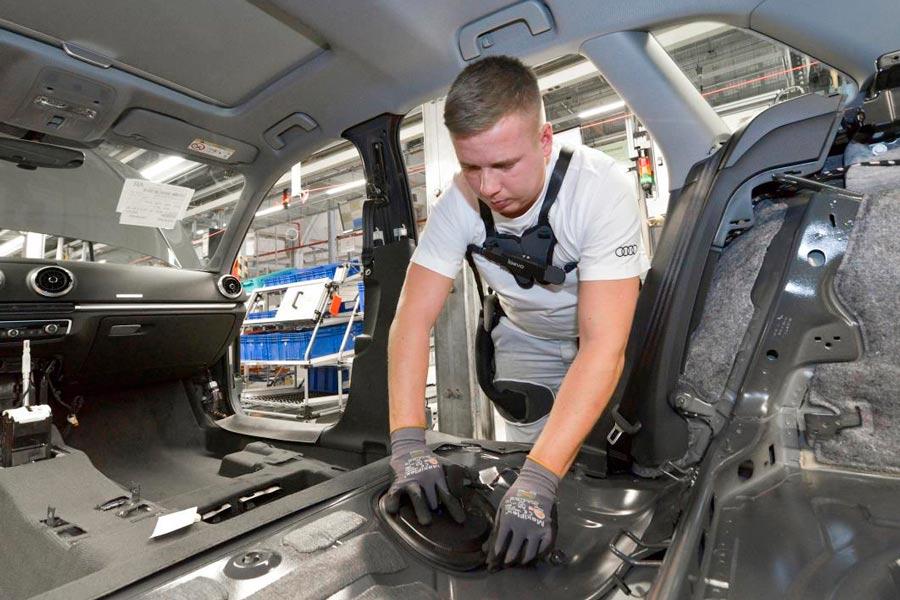 Menos dolores de espalda para los trabajadores de Audi
