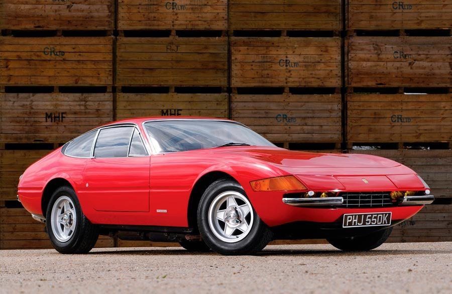 El Ferrari 365 GTB/4 Daytona alcanzó los 280 km/h.