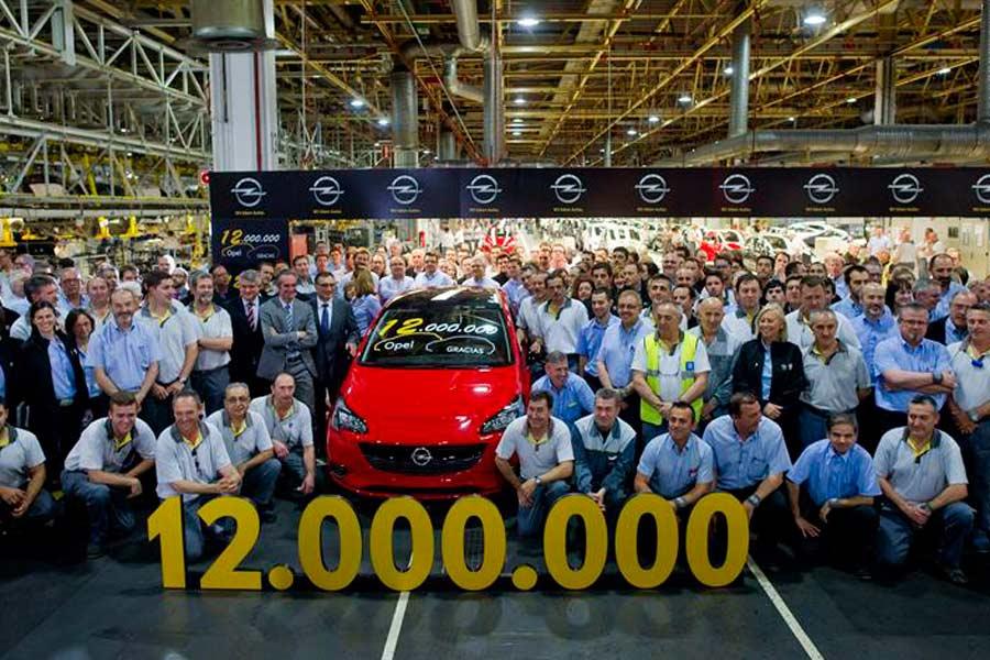 Peligra la producción del Opel Corsa en Figueruelas