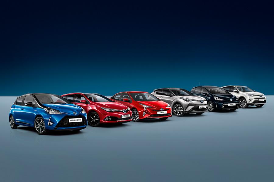 Toyota y Lexus suman más de 150.000 híbridos vendidos en España