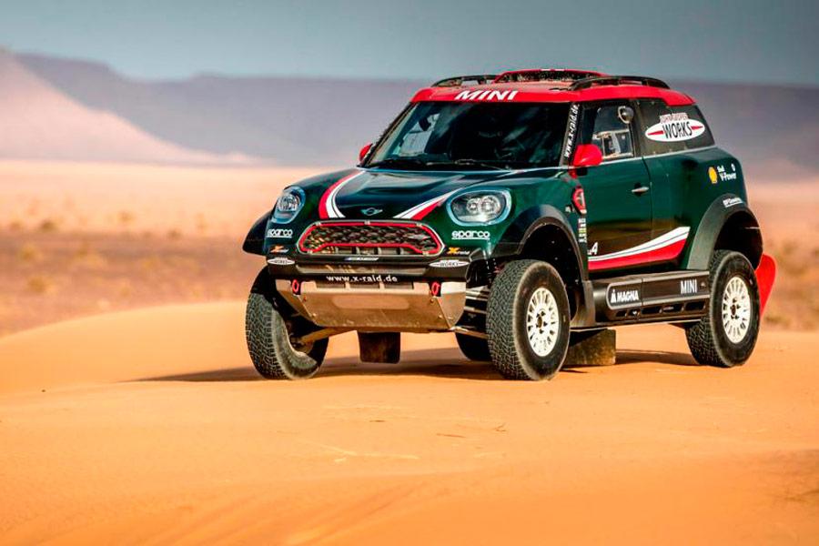 Mini John Cooper Works Team Dakar 2018.