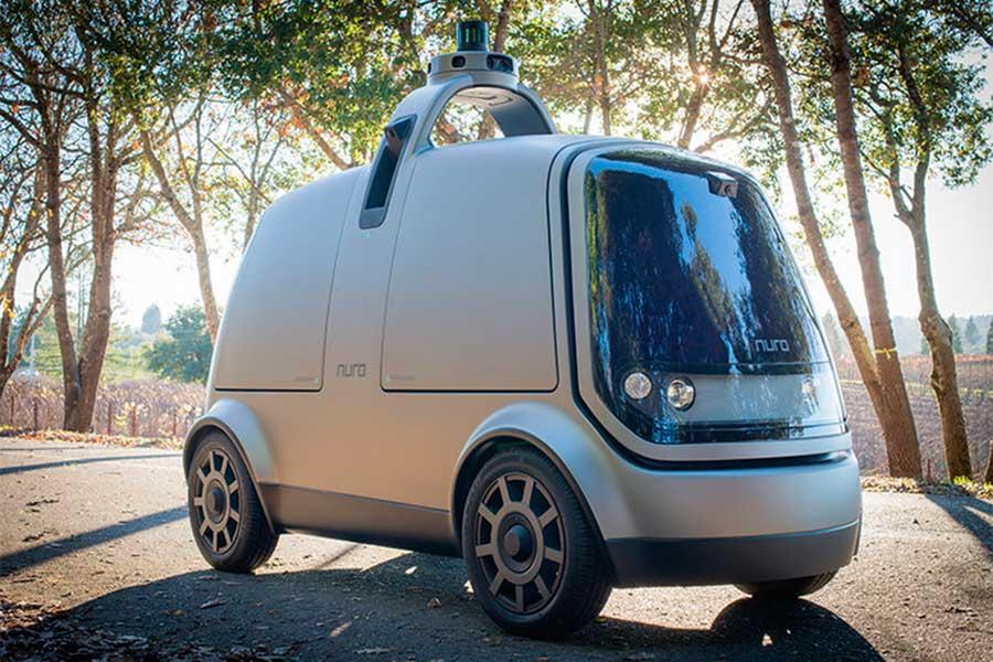 Nuro R-1, el coche autónomo que te lleva tu pedido a casa