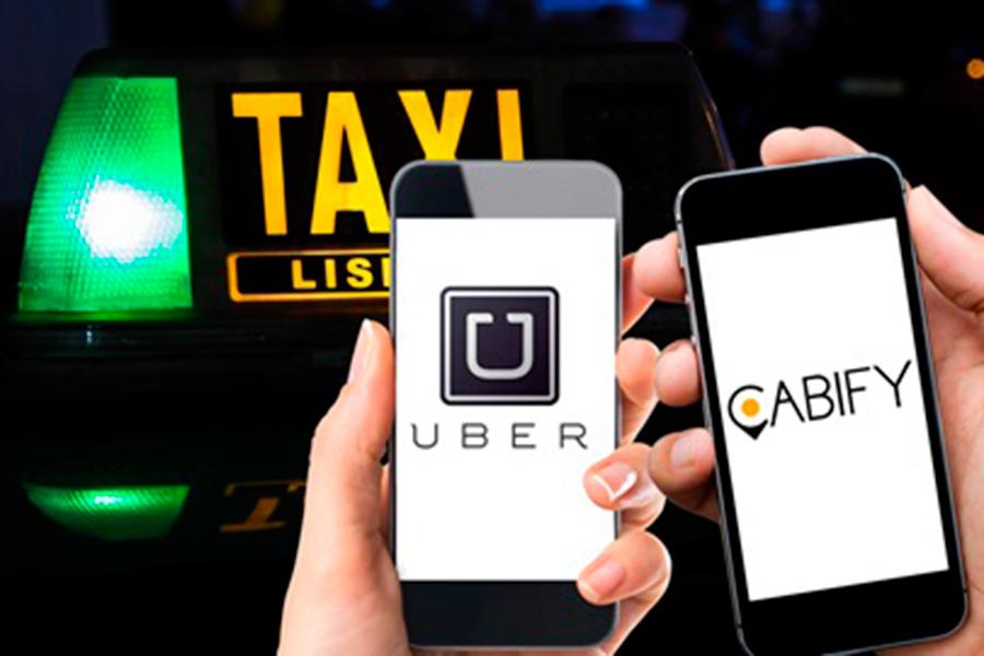 Resultado de imagen para uber- cabify