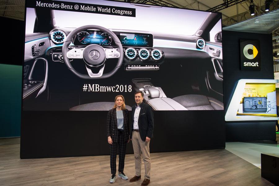 Mercedes presenta en el MWC sus últimas novedades