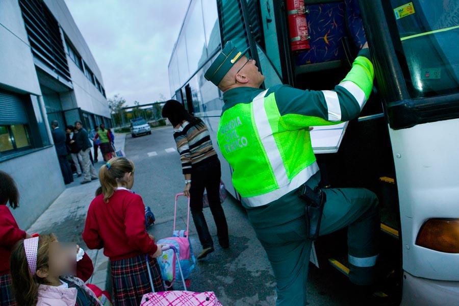 La DGT incrementa la vigilancia del transporte escolar