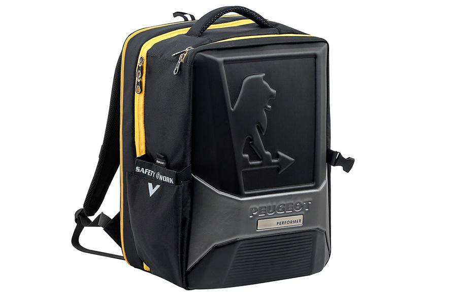 Peugeot crea una mochila pensada para los manitas de casa