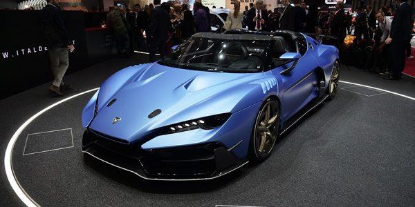 Italdesign Targa: el coche de 2 millones de euros en Ginebra 2018