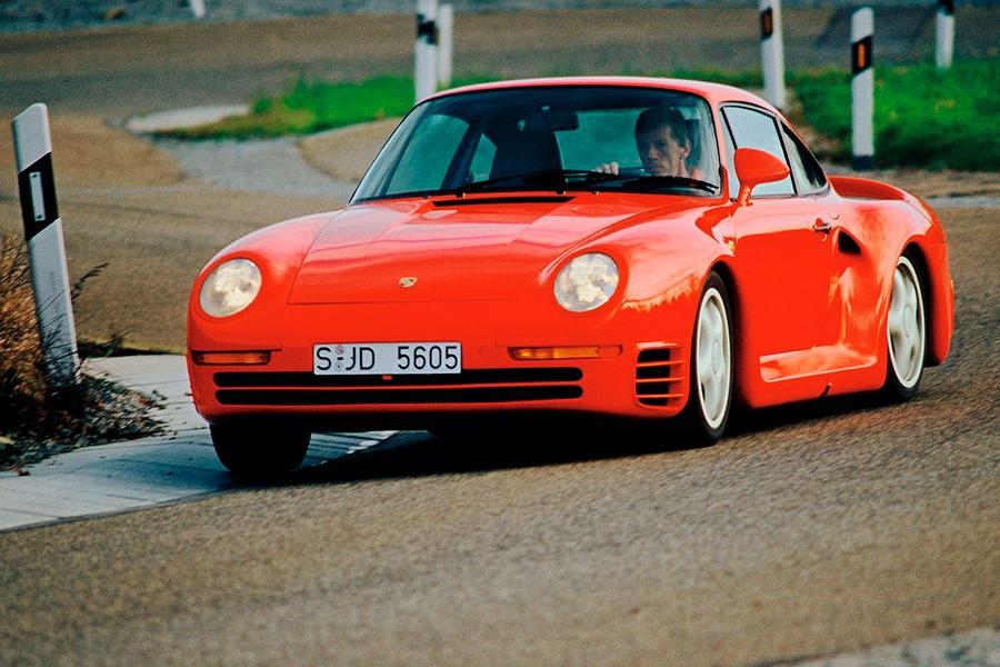El Porsche 959 fue el primer modelo de tecnología realmente avanzada.