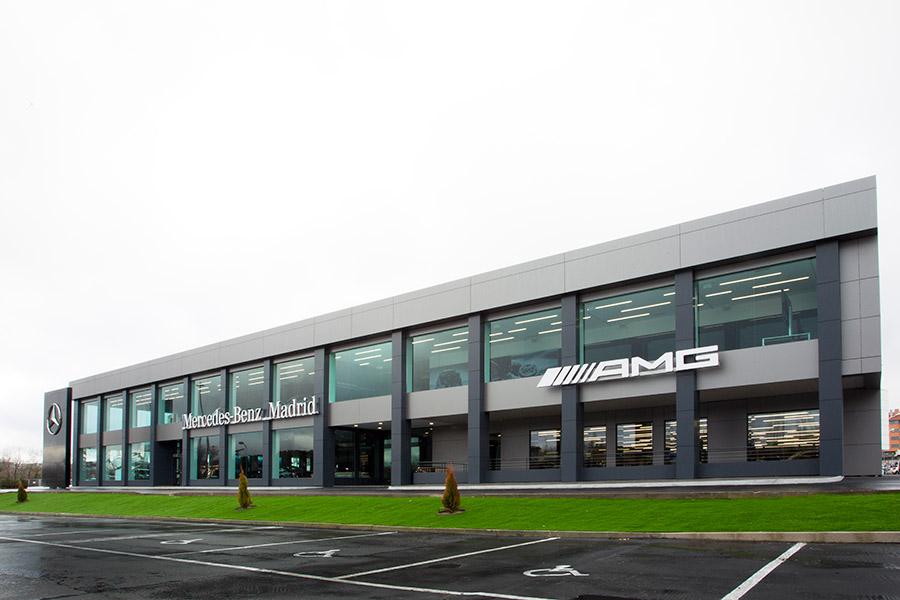 La primera Flagship Store de Mercedes en España