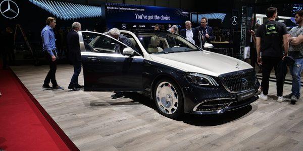 Mercedes-Maybach Clase S 2018: el Rolls-Royce alemán