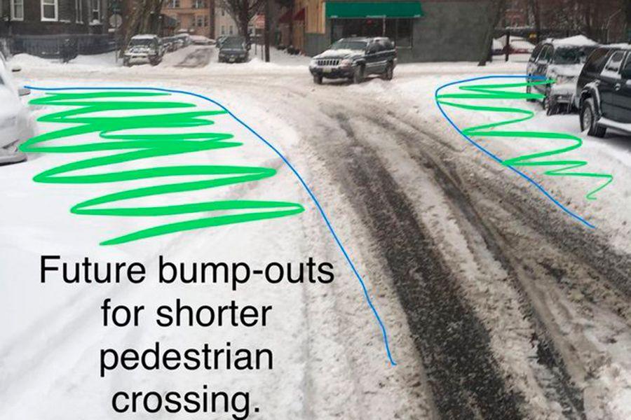 SneckDown: así podría la nieve mejorar las calles