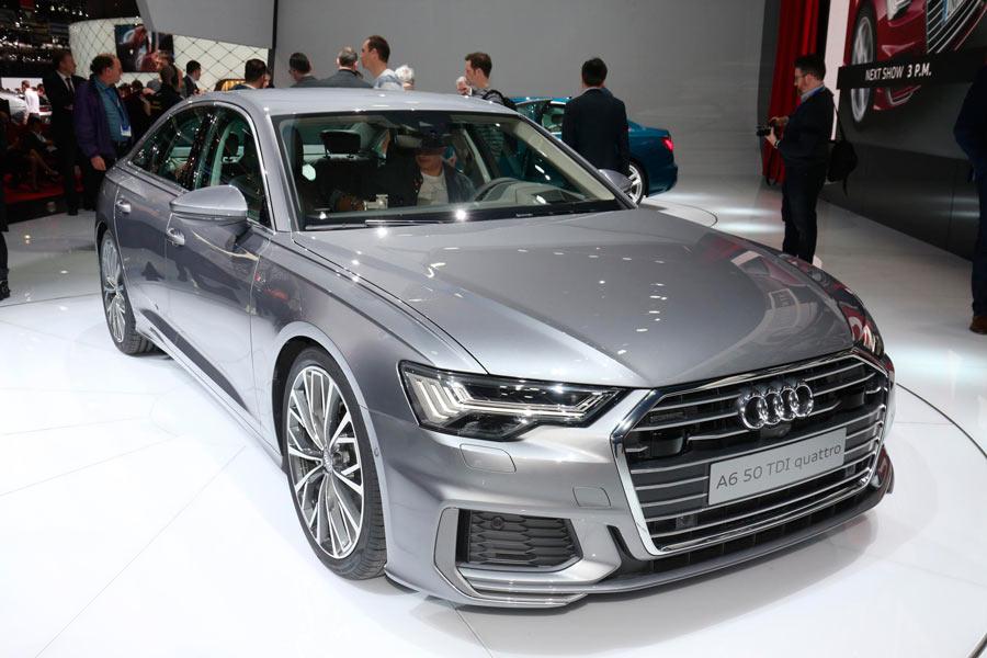 El nuevo Audi A6 ha crecido en todas sus cotas.