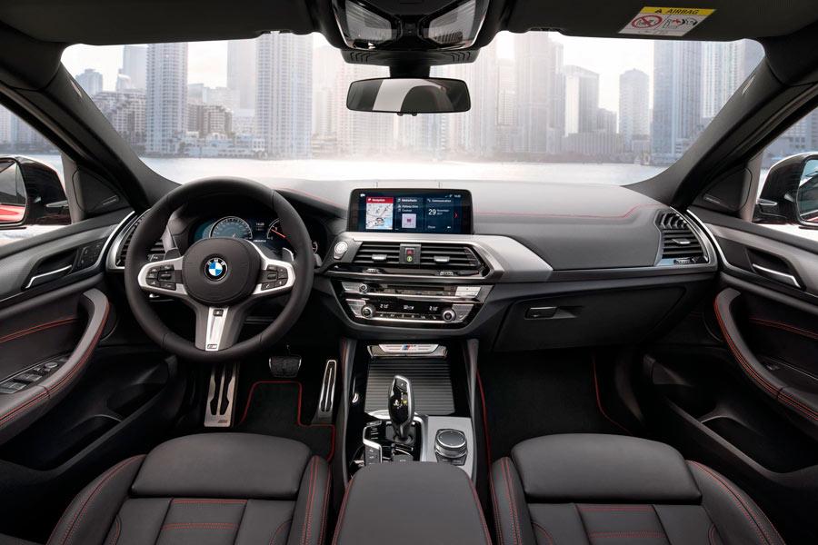 La sensación de calidad ha aumentado en el nuevo BMW X4.