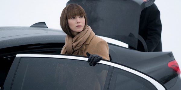 El BMW Serie 7 de Red Sparrow
