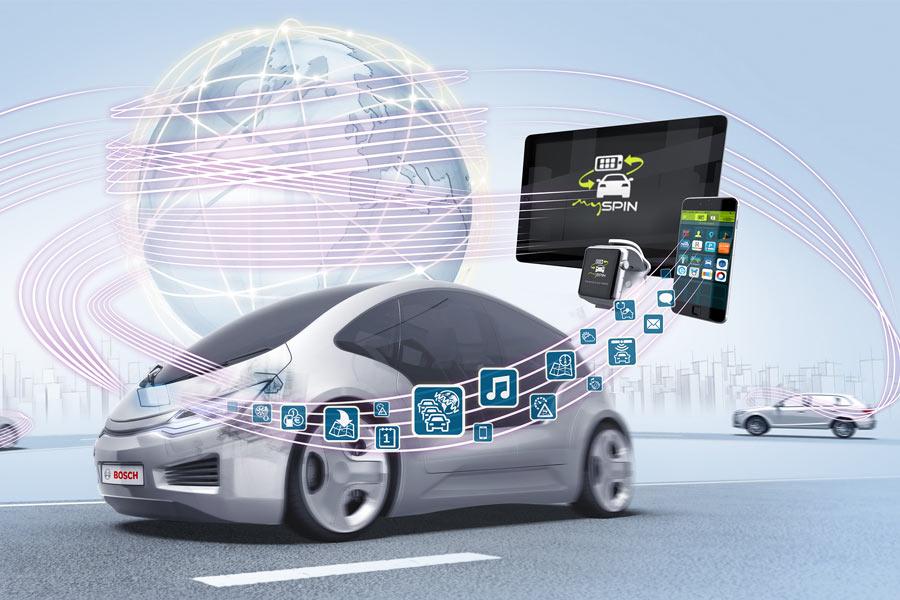 Bosch crea una división de servicios de movilidad conectada