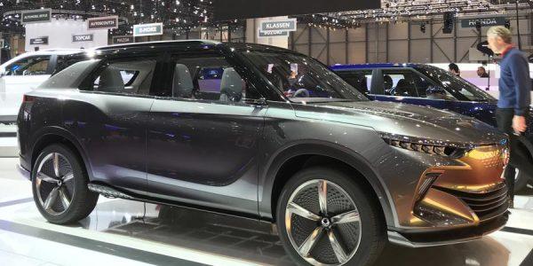 SsangYong e-SIV: el SUV eléctrico que debuta en Ginebra 2018