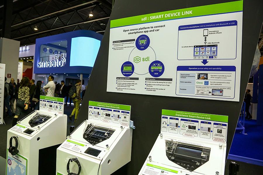 Toyota ha instalado varios módulos para probar estas tecnologías.