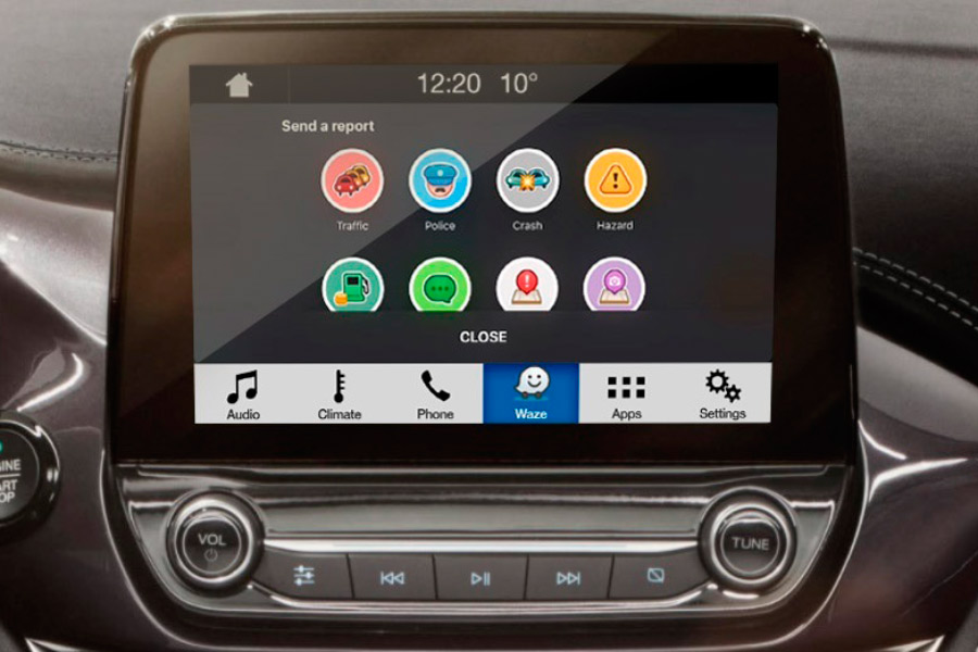 Ford permitirá proyectar Waze en la pantalla de tu coche