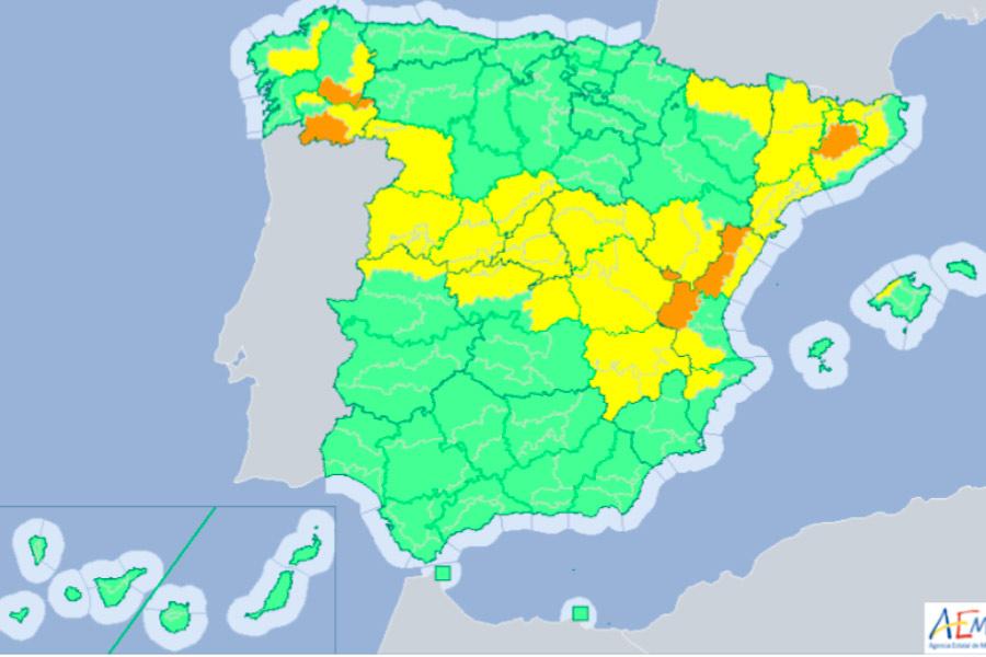 Carreteras: aviso por nevadas en gran parte de España
