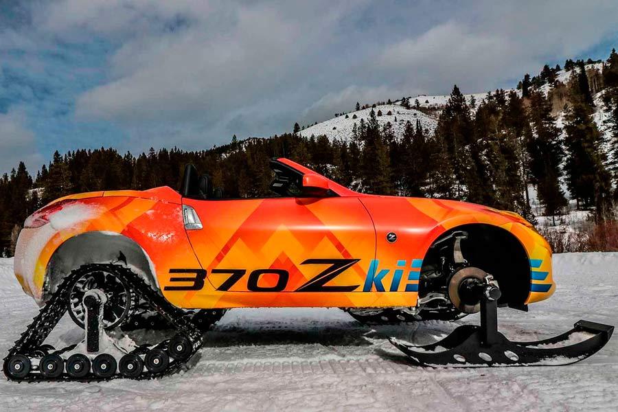 En Nissan se han vuelto locos: ¡328 CV para la nieve!