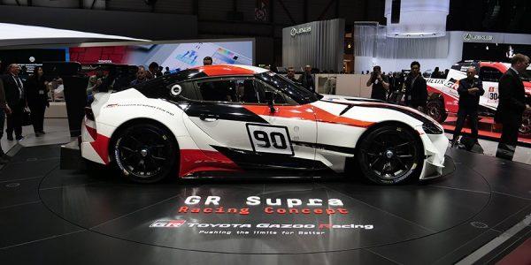 Nuevo Toyota Supra: así es el prototipo de competición
