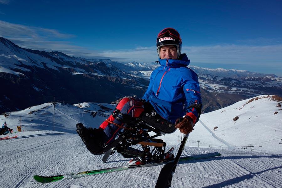 Toyota diseña un nuevo concepto de esquí sentado