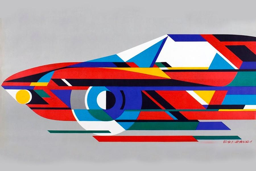 Edi Hauri fue el artista encargado de plasmar en un collage todas las novedades de la edición de 1970.