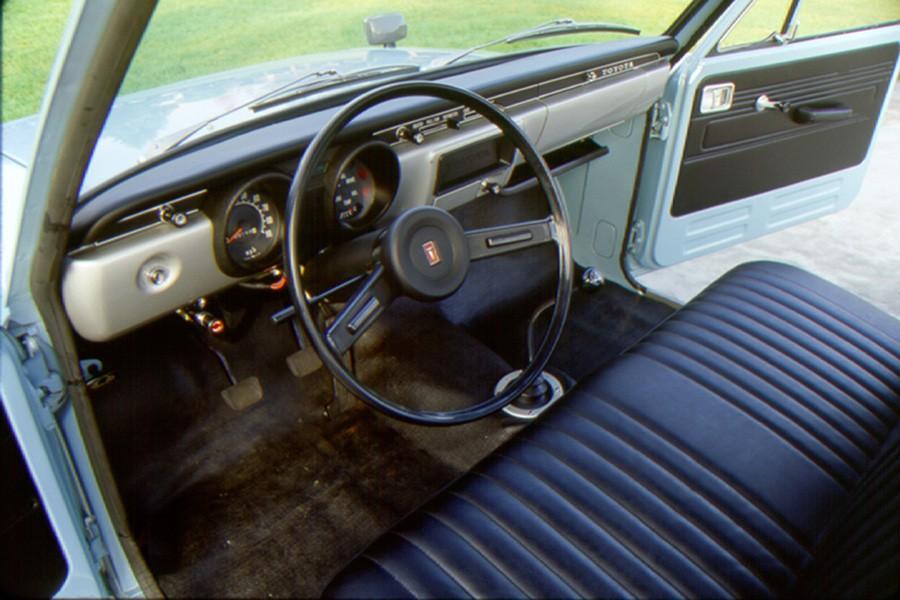 Interior de la primera generación.