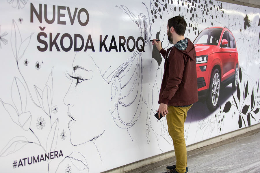 Concurso Skoda para ilustradores amateurs