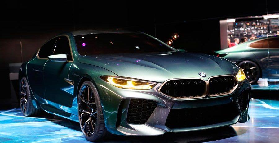 BMW M8 Gran Coupé Concept: adelanto de la nueva Serie 8