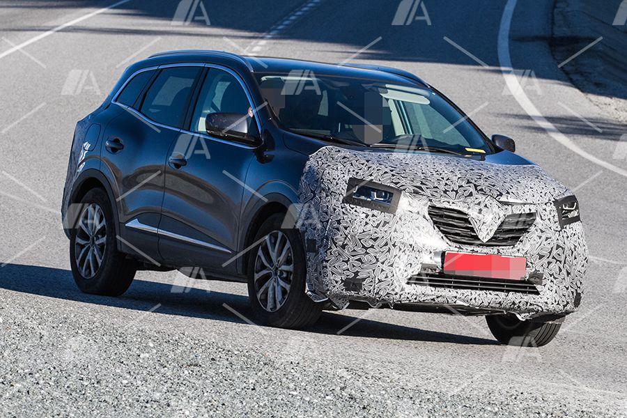 Renault Kadjar Facelift >> Así será la nueva cara del Renault Kadjar | Autocasión