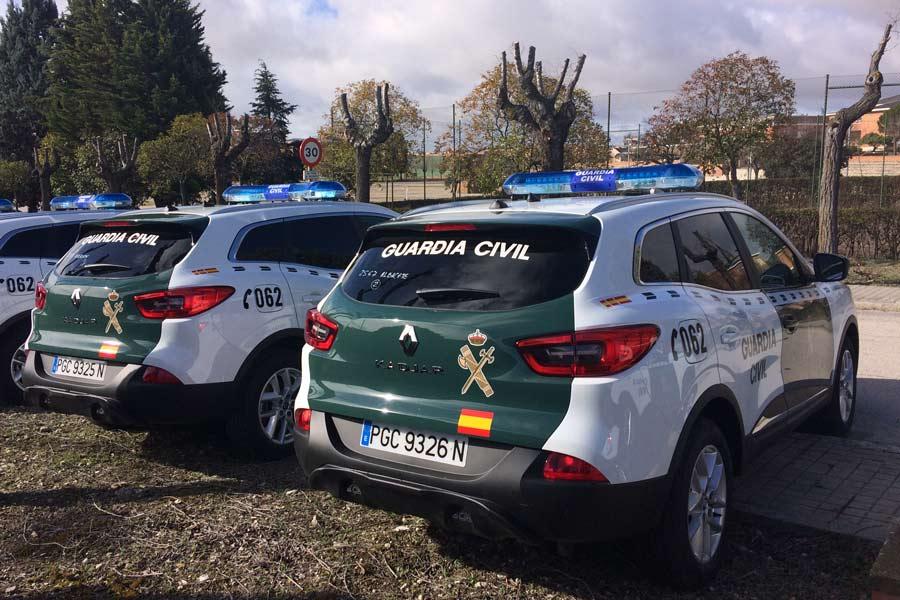 180 Renault Kadjar para la Guardia Civil.