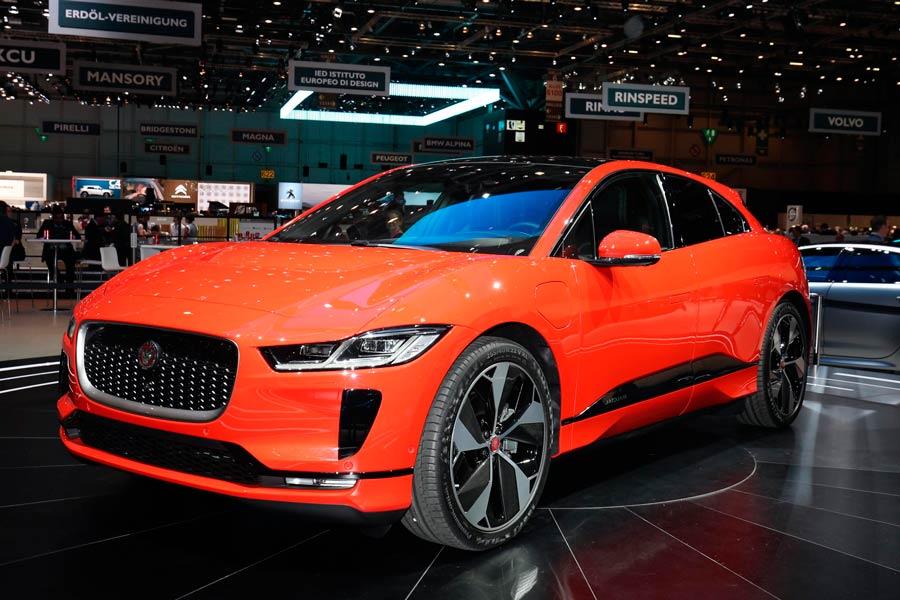 El Jaguar I-Pace es el primer modelo 100% eléctrico de la firma británica.