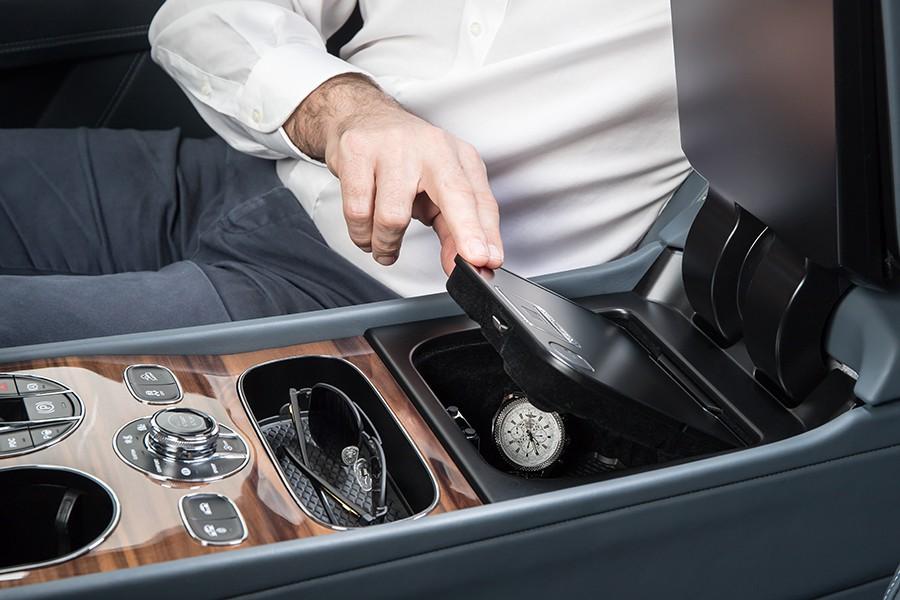 La caja fuerte del Bentley Bentayga