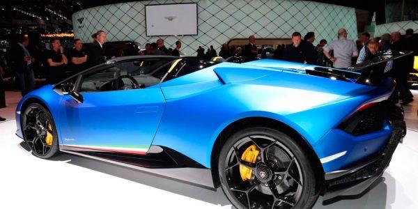 Lamborghini Huracan Performante Spyder: 640 CV a cielo descubierto