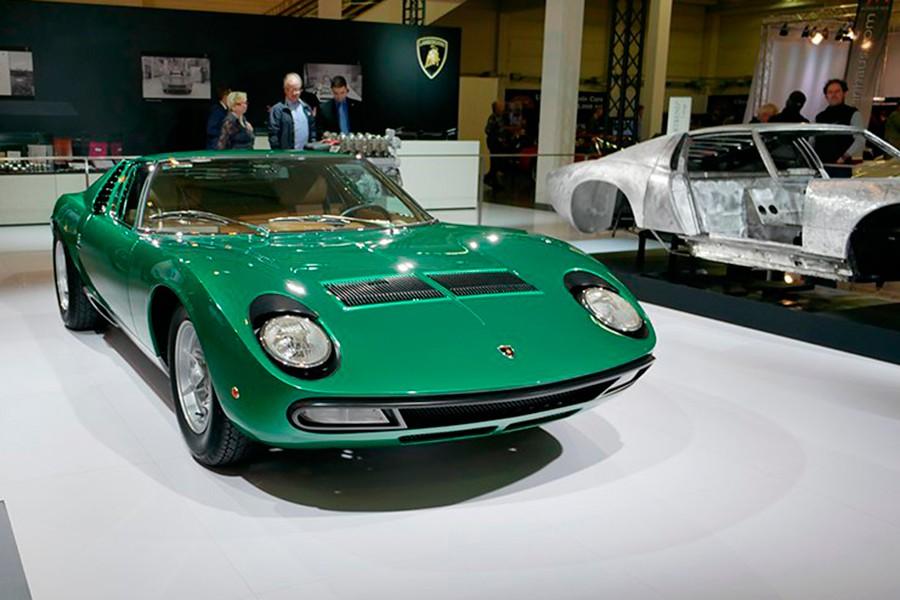 El Miura es uno de los coches más icónicos presentados en Ginebra.